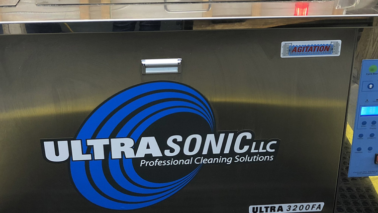 Jet Washing<br>& Sonic Cleaning